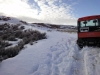 Скалистые горы Вайоминга после снегопада.